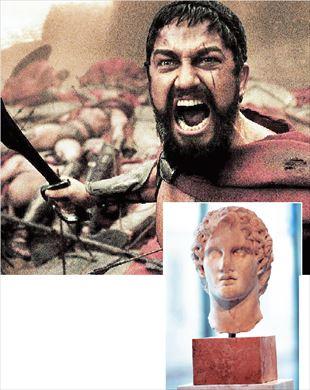 Μαμμόθρεφτο ο Μεγαλέξανδρος, τραμπούκοι ο Λεωνίδας και οι 300