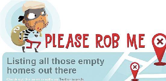 Προσοχή, μη γράφεις στο Ιnternet πότε φεύγεις από το σπίτι σου!