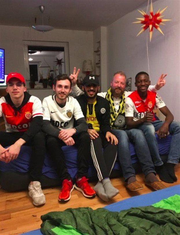 Οπαδοί της Ντόρτμουντ φιλοξένησαν φίλους της Μονακό