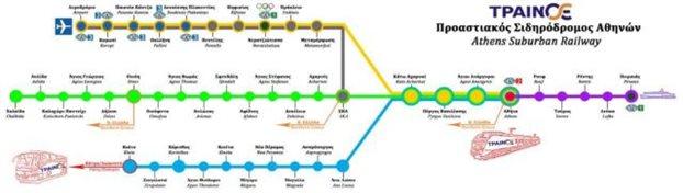 Ο νέος «χάρτης» του Προαστιακού - Οι αλλαγές στα δρομολόγια του ΟΣΕ
