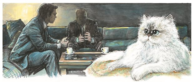 Ο ηγέτης, ο εκδότης και... η γάτα των Ιμαλαΐων